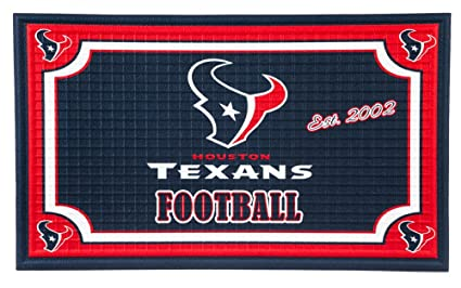 73398f5fb8a626 Image Unavailable. Image not available for. Color: Team Sports America Houston  Texans NFL Embossed Outdoor-Safe ...