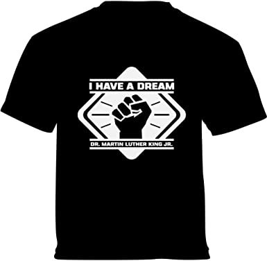 Vizor Martin Luther King Jr Youth T Shirts Tees I Have A Dream Resist