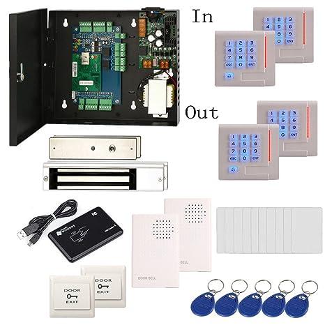 Amazon 2 Door Access Control System Kit Swipe Card Two Way