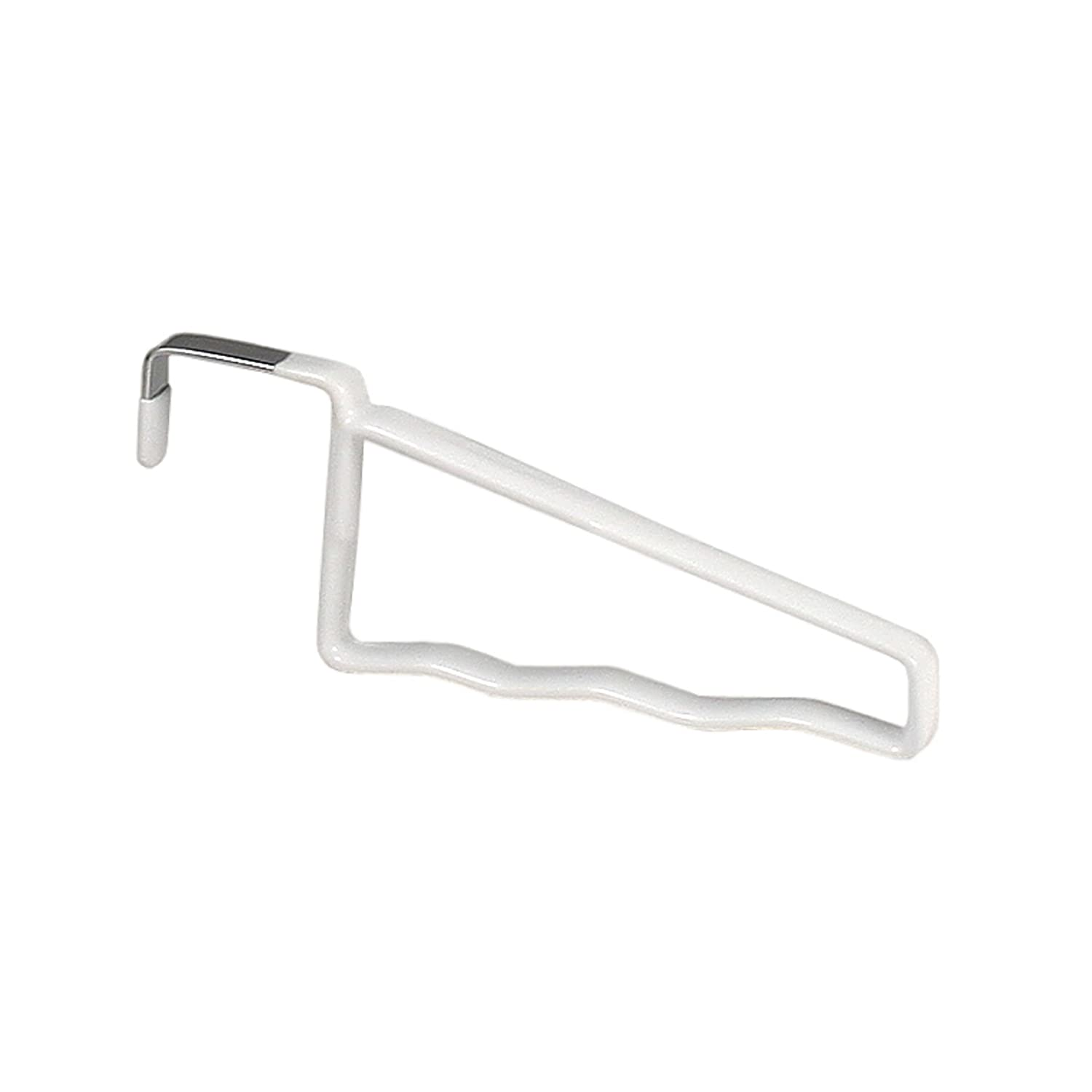 Spectrum Diversified Over the Door Hook Rack, White 16600-24