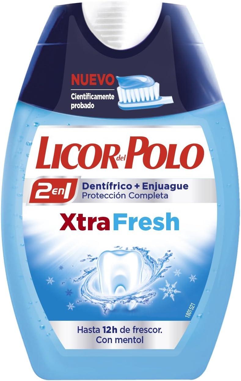 Liccor del Polo XtraFresh Dentífrico 2 en 1-75 ml: Amazon.es ...
