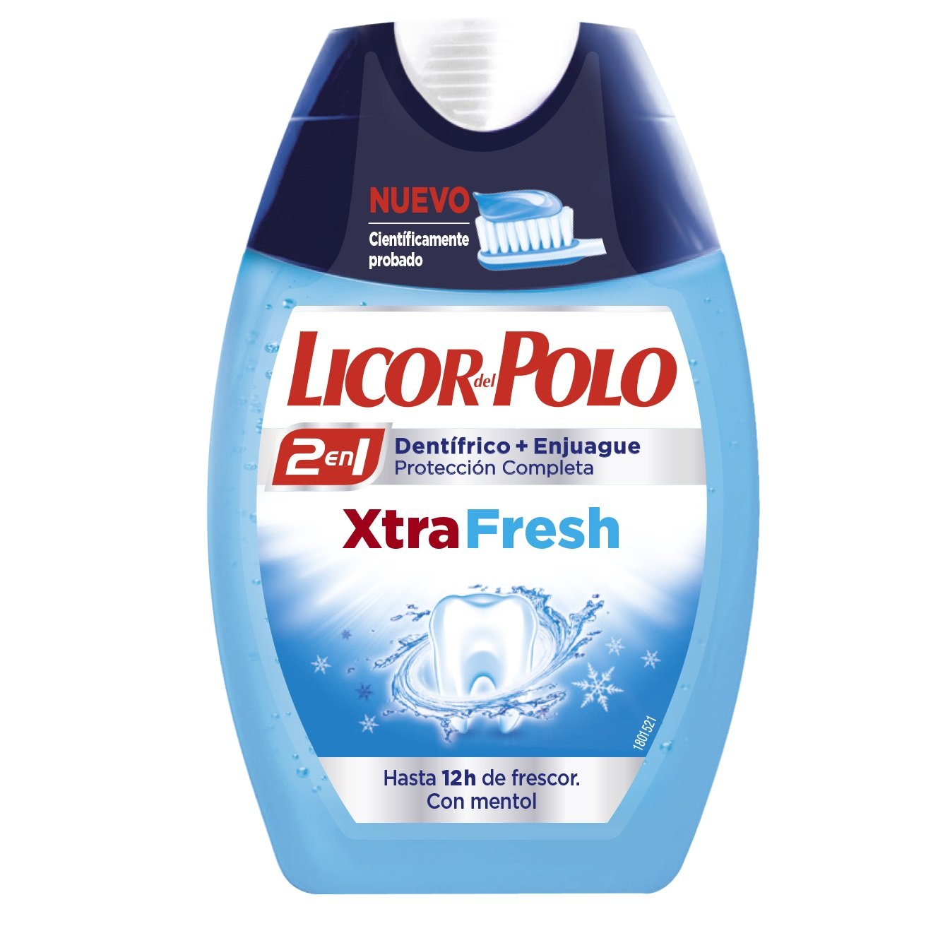 Liccor del Polo XtraFresh Dentífrico 2 en 1-75 ml: Amazon.es ...