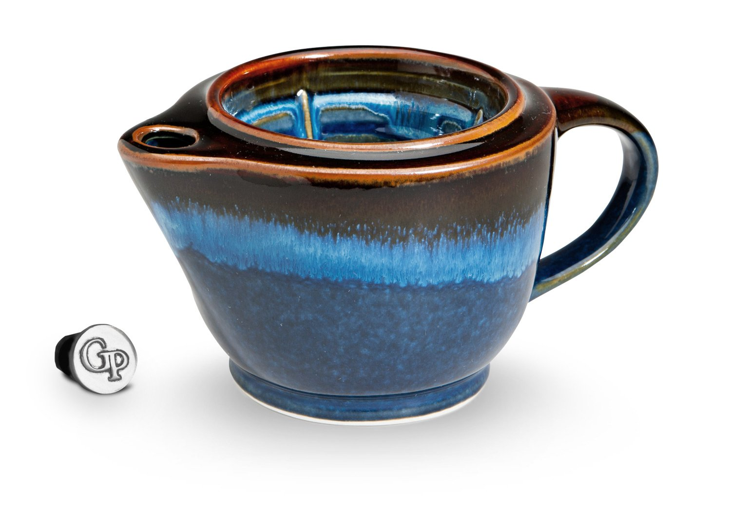 Georgetown Pottery G20 Shaving Scuttle Mug - Hamada & Blue by Georgetown Pottery