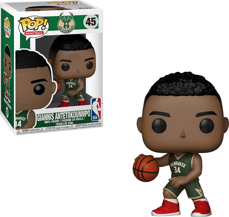 Funko 34436 Pop Vinilo: NBA: Giannis Antetokounmpo, Multi: Amazon ...