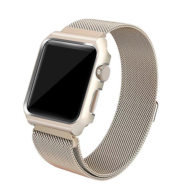 Para Apple reloj bandas de repuesto, ajustable malla de ...
