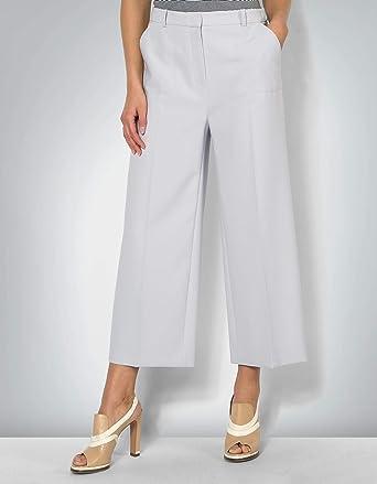 e7bb5139484f54 Joop! Damen Hose Mikrofaser Pant Unifarben, Größe: 40, Farbe: Grau ...