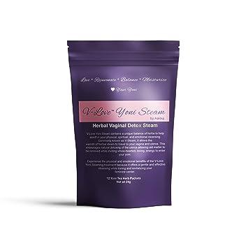 46ee3abc91315 Yoni Steam Herbs by V-Love | Herbal Bath Steaming Blend for Better Feminine  Health – Bonus Ebook: Yoni...