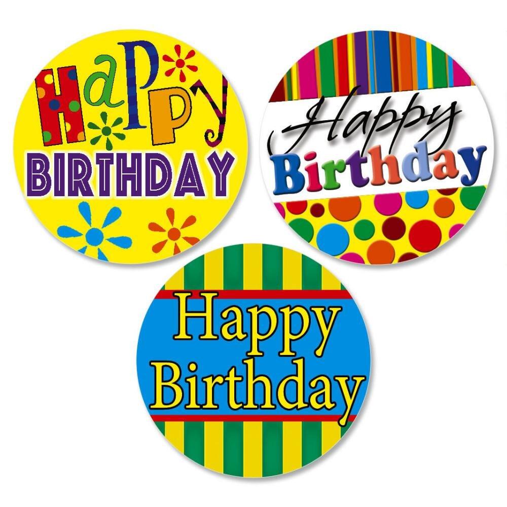 Happy Birthday Envelope Seals(3 Designs)