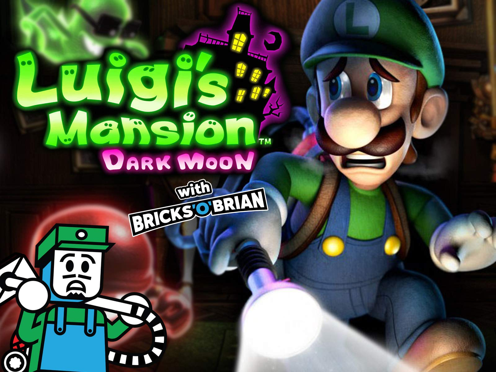 Watch Clip Luigi S Mansion Dark Moon With Bricks O Brian