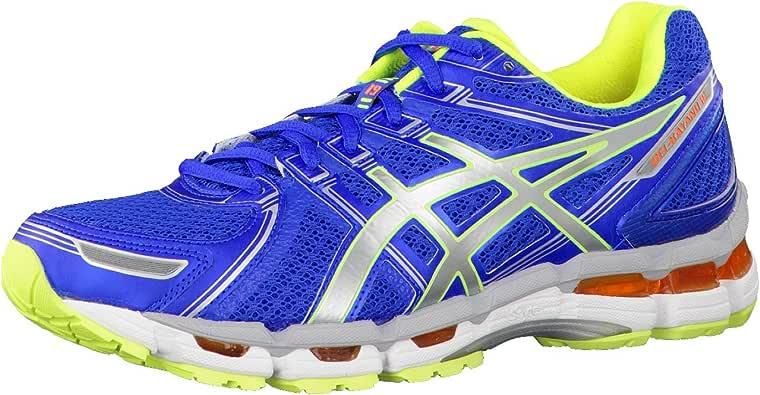 ASICS Gel-Kayano 19 Zapatilla de Running Caballero, Azul/Blanco, 40: Amazon.es: Zapatos y complementos