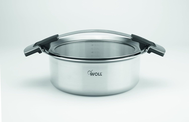 Woll 824CO Concept Cazuela (Acero Inoxidable, 24 cm x 9 cm