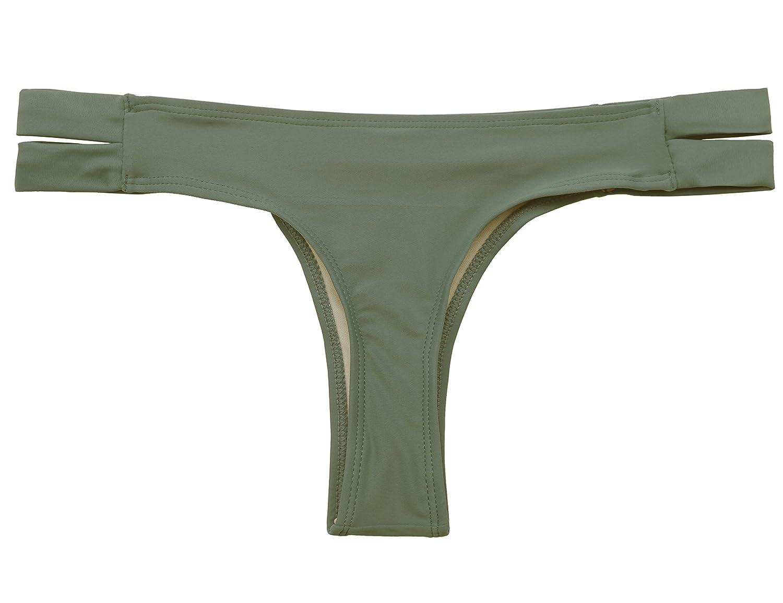 SHEKINI Swimming Briefs for Women Triangular Ladies Shorts Bottoms Female Tanga Teeny Thong