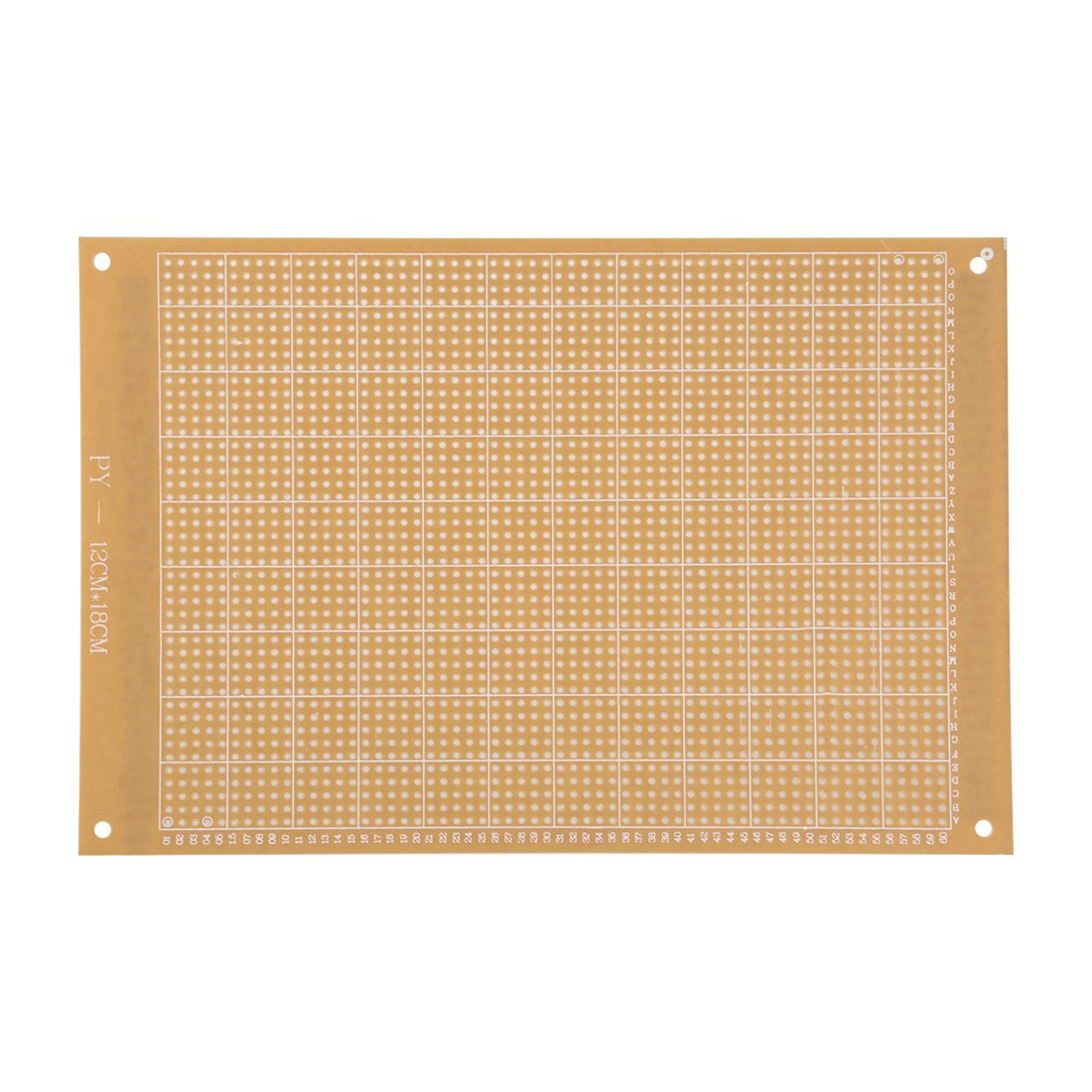 Uxcell a15091800ux0023 DIY Double Sided Copper Clad Laminate PCB Circuit Board 100x70 mm 12 Piece