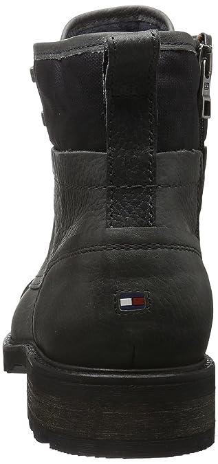 Tommy Hilfiger Herren C2285URTIS 13A Kurzschaft Stiefel, Grau (Magnet 916),  40 EU  Amazon.de  Schuhe   Handtaschen 93e644f3aa