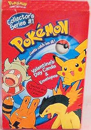 Amazoncom Pokemon Valentines Cards Collectors Series 1 Includes
