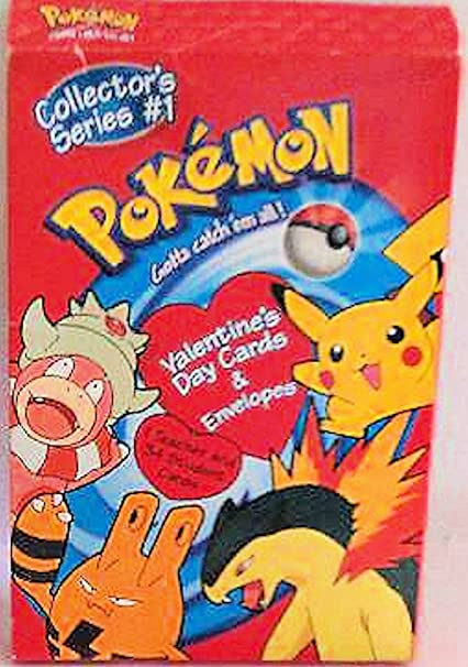 Amazon Com Pokemon Valentines Cards Collectors Series 1 Includes