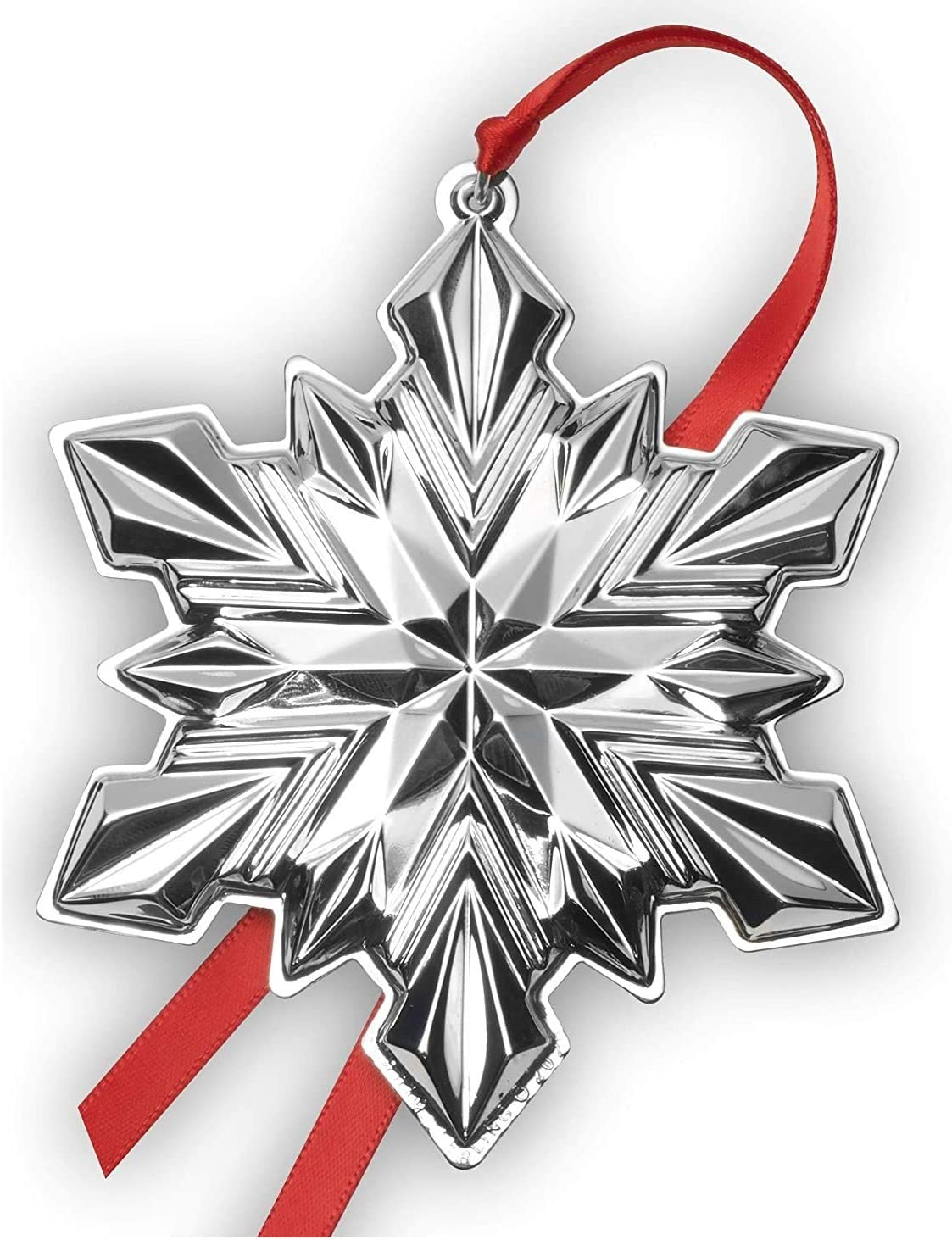 Lifetime Brands Gorham 5254043 Annual Sterling Silver Snowflake 2020 Holiday Ornament 51st Edition Metal Furniture Decor
