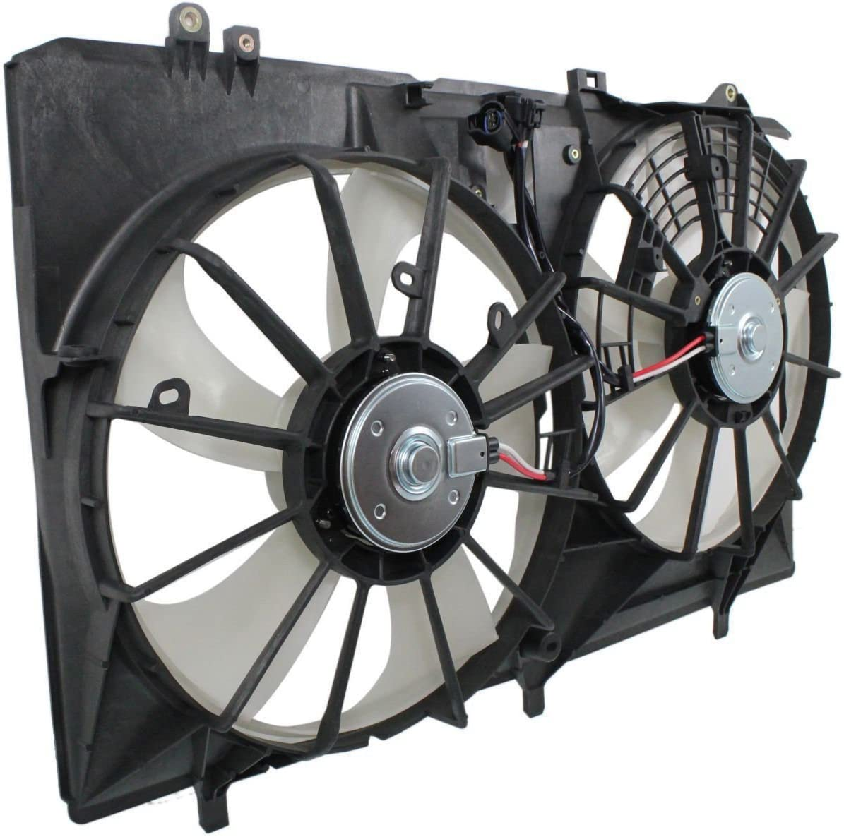 Radiator And Condenser Fan For Toyota Lexus Fits Avalon ES350 TO3115170