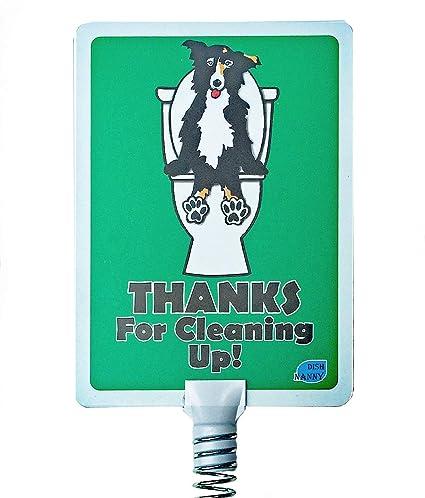 Amazon.com: Señal de jardín para excrementos de perros ...