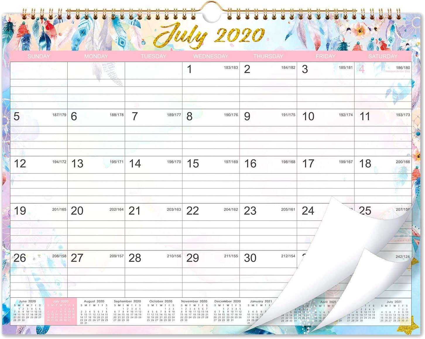 2020-2021 Calendar - 18 Months Wall Calendar 2020-2021, 15