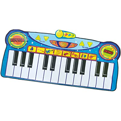 Little Virtuoso Romping Stomping Piano Mat: Toys & Games