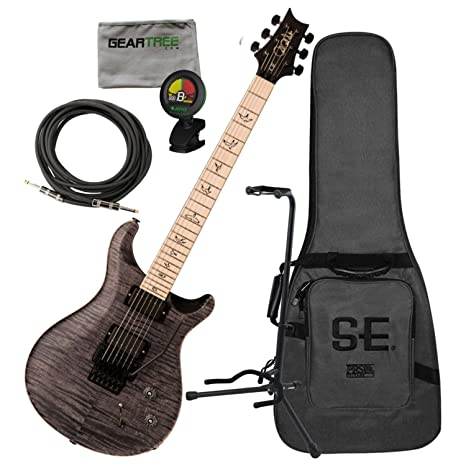 PRS DW CE 24 Floyd Limited Edition - Guitarra eléctrica (incluye bolsa, cable,