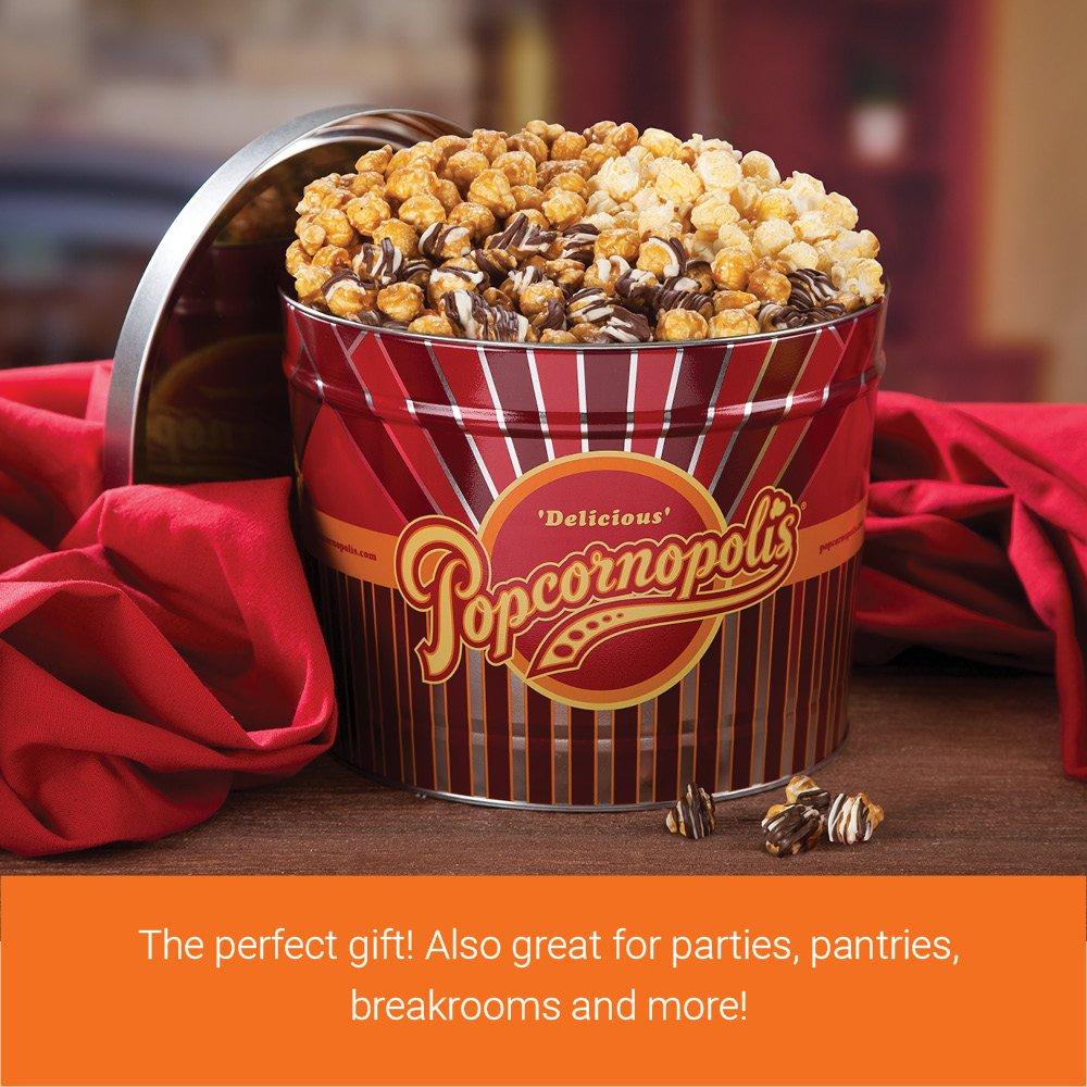 Popcornopolis Gourmet Popcorn 2 Gallon Tin - Premium by Popcornopolis (Image #3)