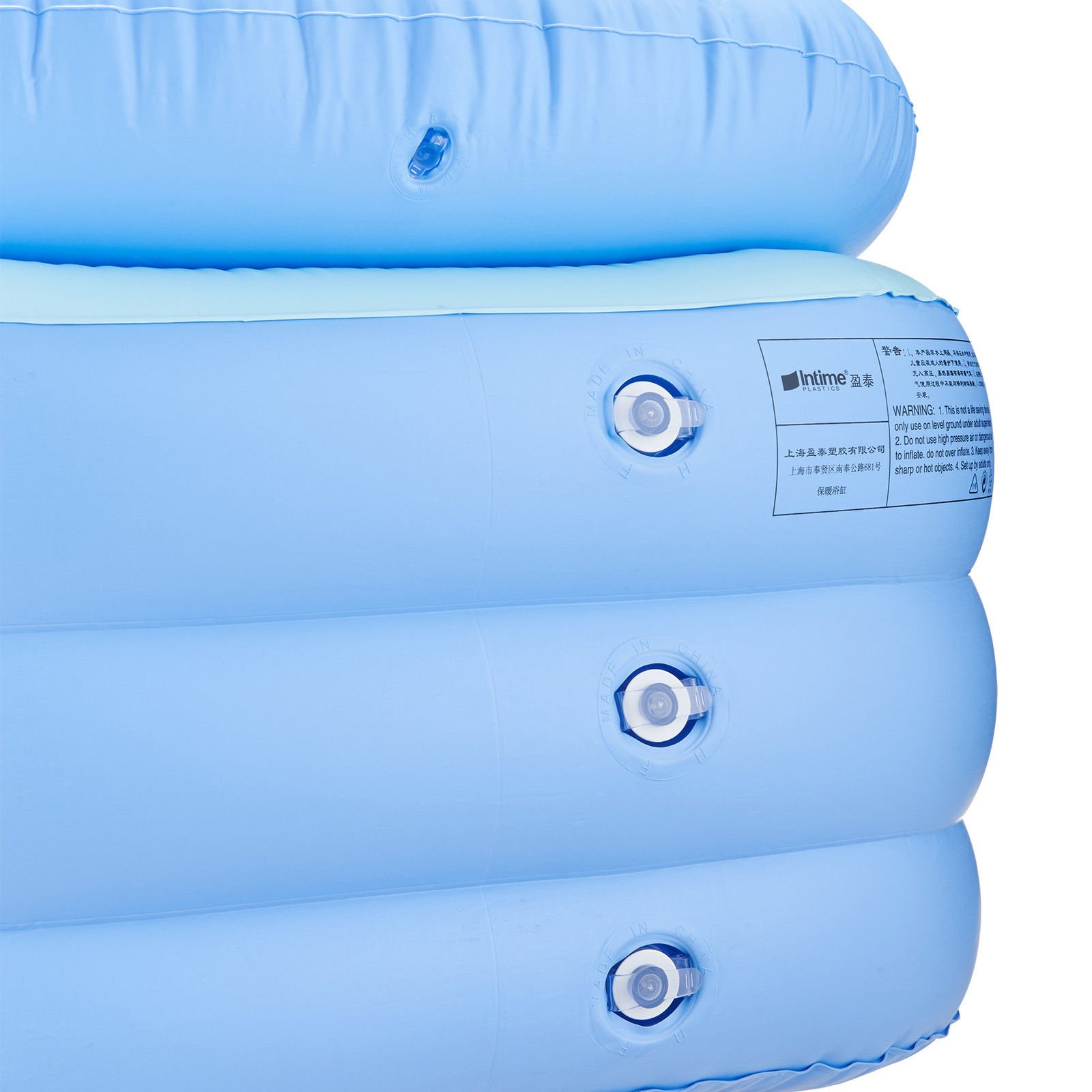 LZHQT Blow Up Adult PVC Folding Portable Foldable Bathtub Inflatable Bath Tub Air Pump by LZHQT (Image #8)
