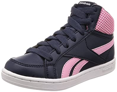 7fe8e7b7201bf Reebok Royal Prime Mid Chaussures de Fitness Fille