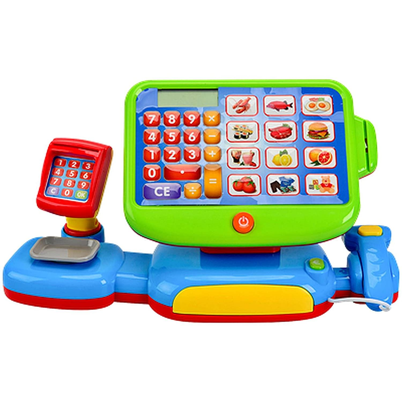 Kaufladen Kasse mit Scanner - Kinder Spiel Kasse