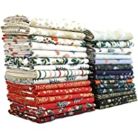Holiday Classics Fat Quarter Bundle (29 Pieces) by Rifle Paper Co. for Cotton and Steel 18 x 21 inches (45.72 cm x 53.34…
