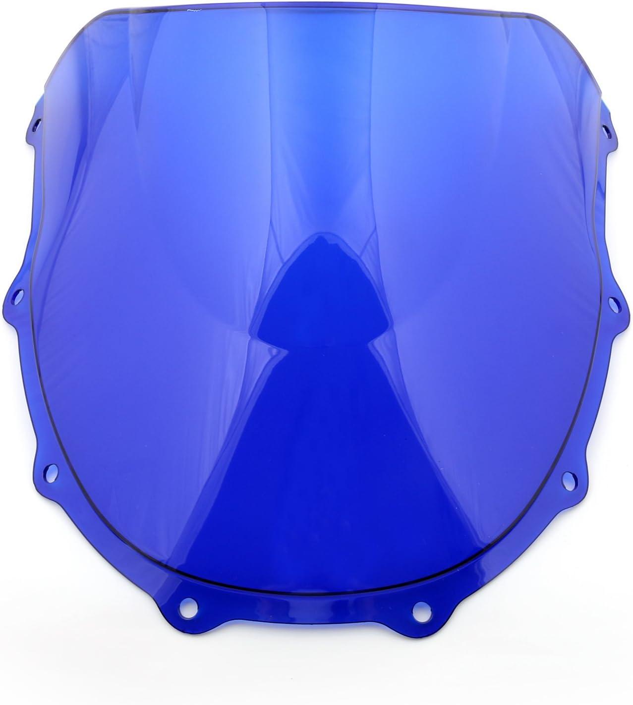 Artudatech Parabrezza per moto anteriore per K-A-W-A-S-A-K-I Ninja ZX7R ZX 7R 1996-2003