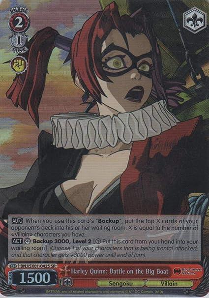 Amazon.com: Weiss Schwarz - Harley Quinn: Battle on The Big ...