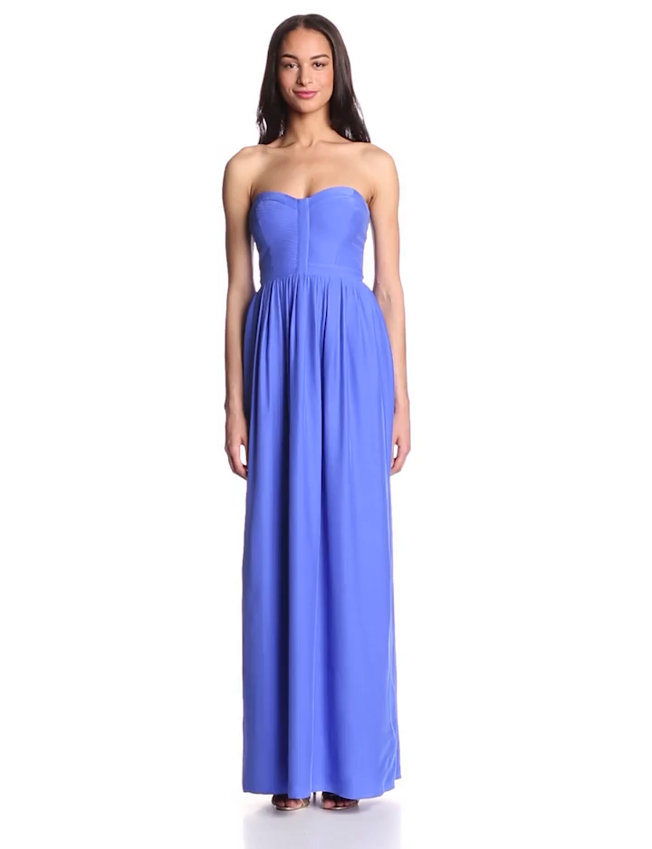 Parker Women's Bayou Silk Strapless Maxi Dress