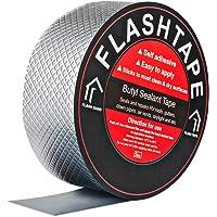 50mm(W) x 5M(L) Aluminium Butyl Lek Reparatie Tape, Zelfklevende Sterke Waterdichte Tape Hoge Temperatuur Proof…