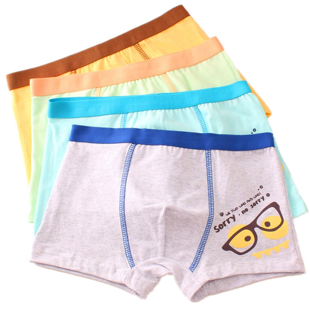 Cczmfeas Boys Underwear Cotton Kids Boxer Brief Toddler Briefs 4 Pack So Aromatherapy
