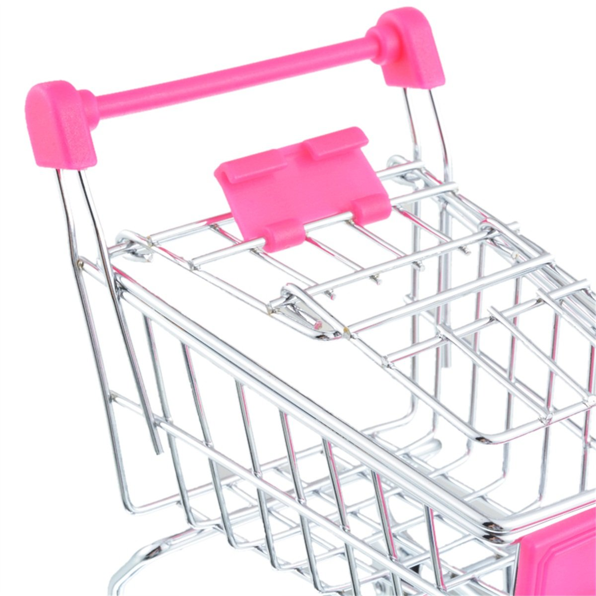 Amazon.com: Rose Red/ 11.5x8x12cm/ Shopping Cart Craft Decoration Trumpet Supermarket Trolley Metal Model Trolley Toy: Home & Kitchen