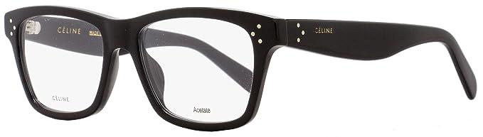 63413b905d47 Eyeglasses Celine 41418 0807 Black at Amazon Men s Clothing store