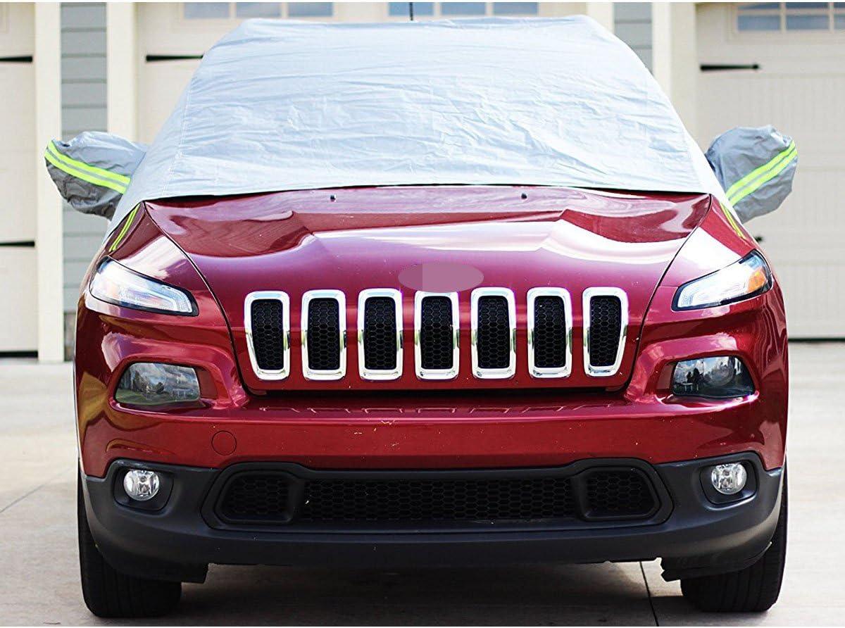 B/âche de protection solaire demi-housse pare-neige Protection UV Taille hiver /& /ét/é SUV Compatible avec VW Tiguan II