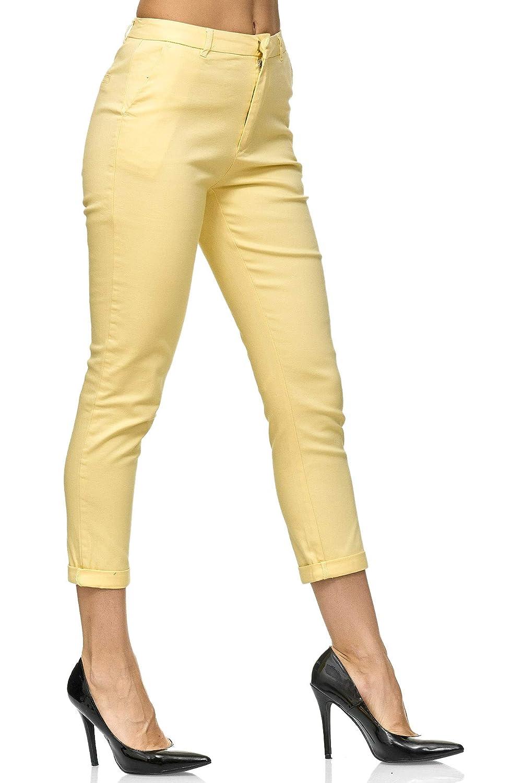Chunkyrayan Slim Fit Elara Pantalon Chino Femmes