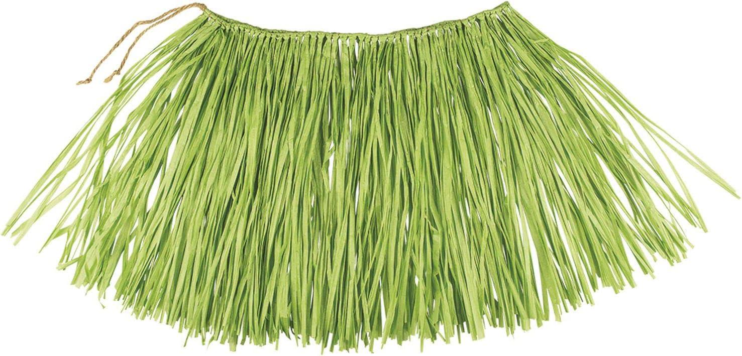 Boland – Rafia Falda Hawaii, Color Verde, 52234: Amazon.es ...