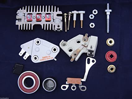 10SI Delco Alternator 1 Wire Self Excited Regulator Rebuild Conversion Kit