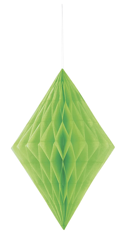 Unique Party- Decoración de diamante de papel de seda, Color verde ...