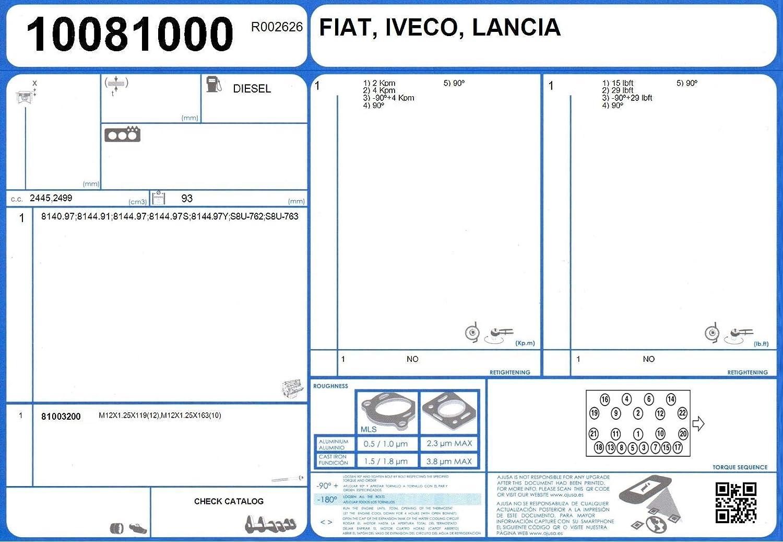 Ajusa 10081000 Joint d/étanch/éit/é culasse