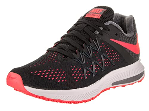 7ae55f05745d Image Unavailable. Image not available for. Colour  Nike Women s Zoom  Winflo 3 Black Hot ...