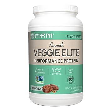 Amazon Com Mrm Veggie Elite Performance Protein 24 Grams Of