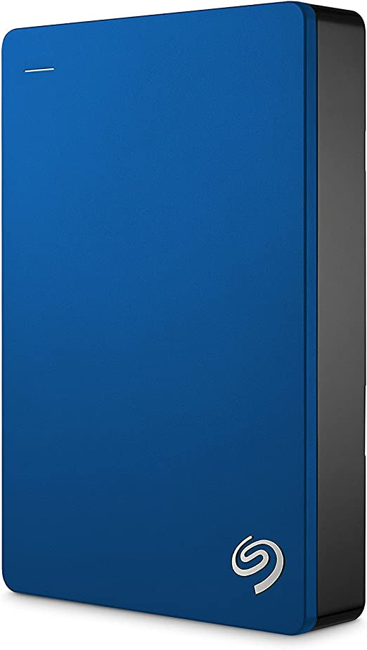 Seagate Backup Plus 4TB Portable External Hard Drive USB 3.0, Blue (STDR4000901) [並行輸入品]