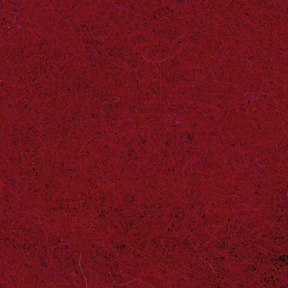 Efco 50 g Wool for Felting, Dark Red