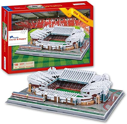 3d puzzle football field model replica of alp stadium juventus fans best gifts for children diy puzzle toys amazon ca sports outdoors amazon ca