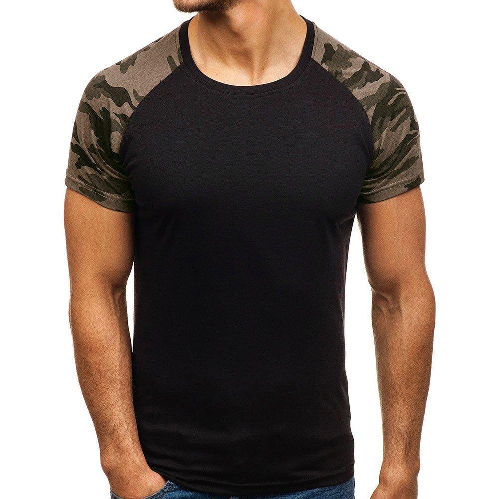 Hombre camiseta manga corta,Sonnena ❤ Camisetas de manga corta de corte slim para hombres Camisa de Béisbol Blusa: Amazon.es: Hogar